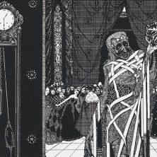 La máscara de la muerte roja, un cuento de Edgar Allan Poe
