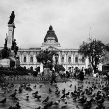 Taxi a la plaza San Francisco, un relato de Daria Mengert